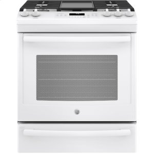 "GEGE® 30"" Slide-In Front Control Convection Gas Range"