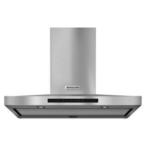 "KitchenAid36"" Wall-Mount, 3-Speed Canopy Hood - Stainless Steel"