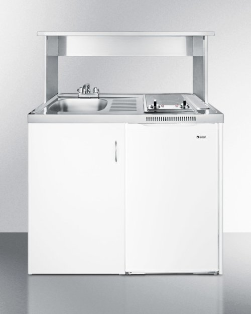 Stainless Steel Appliance Station for All C39 Combination Kitchens