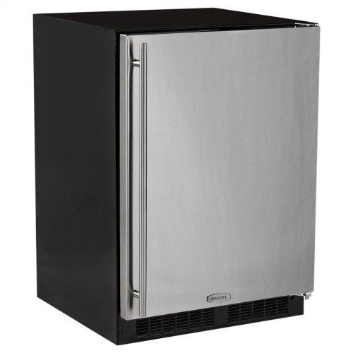 "24"" All Freezer  Marvel Premium Refrigeration - Stainless Steel Door - Right Hinge"