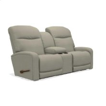 Levi Wall Reclining Loveseat w/ Console