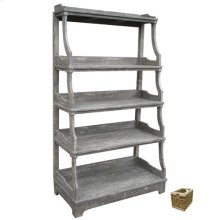 Open Stacked Display Shelf