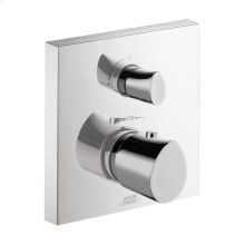 Chrome Starck Organic Thermostatic Trim with Volume Control