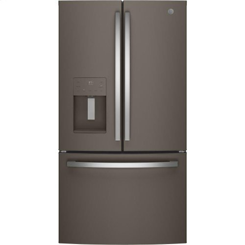 GE® ENERGY STAR® 25 6 Cu  Ft  French-Door Refrigerator