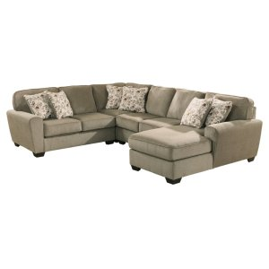 AshleyASHLEYPatola Park 4-piece Sectional With Chaise