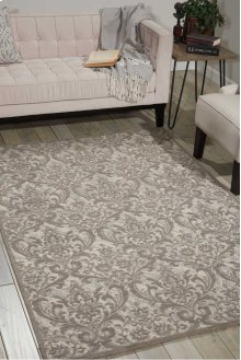 Damask Das02 Ivgry Rectangle Rug 8' X 10'