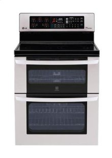 6.7 cu. ft. Capacity Electric Double Oven Range with Infrared Heating and EasyClean®
