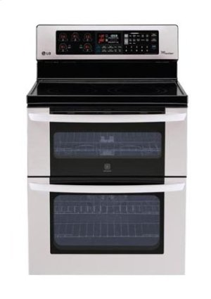 6.7 cu. ft. Capacity Electric Double Oven Range with Infrared Grill and EasyClean