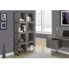 """BOOKCASE - 71""""H / DARK TAUPE Product Image"""