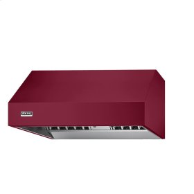 "Burgundy 54"" Wide 24"" Deep Wall Hood - VWH (24"" deep, 54"" wide)"