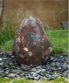 Outdoor Fountain: Small Pebble Fountains Jurassic