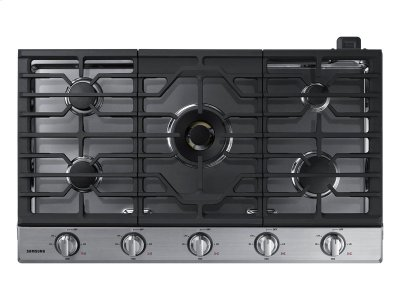 """36"""" Gas Cooktop with 22K BTU True Dual Power Burner (2016) Product Image"""