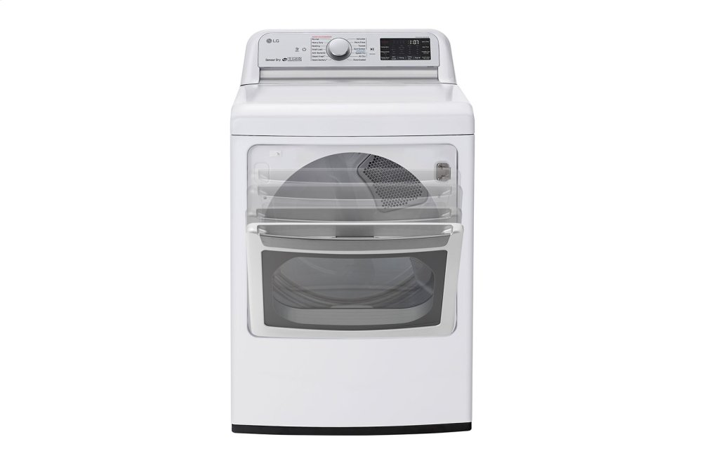 7.3 cu.ft. Smart wi-fi Enabled Electric Dryer with TurboSteam™ Photo #5