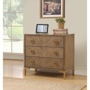3 Drw Power Outlet Chest Product Image