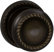 Interior Traditional Knob Latchset in (SB Shaded Bronze, Lacquered)