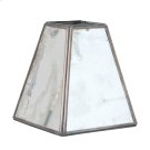 Antique Mirror Square Chandelier SHADE. Product Image