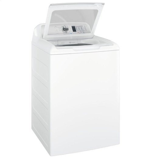 GE® 4.6 DOE cu. ft. Capacity Washer with Stainless Steel Basket