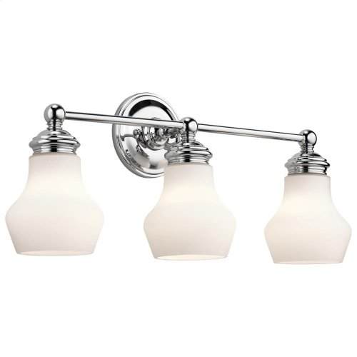 Currituck Collection Bath 3 Light CH