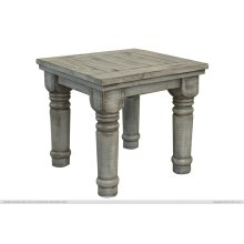 End Table Gray Finish