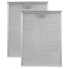 """Aluminum Replacement Grease Filter with Antimicrobial Protection for 30"""" QP3 Series"""