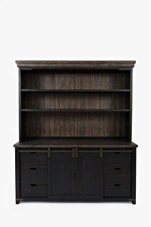 Madison County Server Hutch - Vintage Black