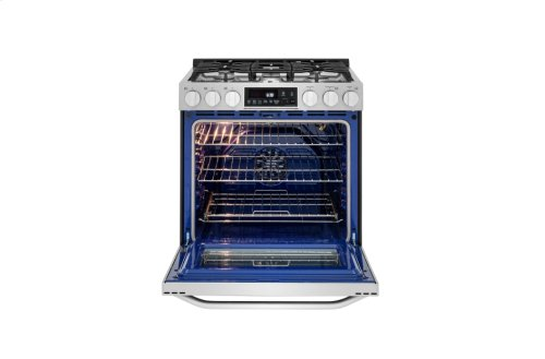 LG STUDIO - 6.3 cu. ft. Gas Slide-in Range with ProBake Convection®