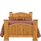 """Queen : 67"""" x 59"""" x 95"""" Mansion Bed Product Image"""