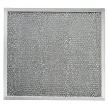 "Aluminum Grease Filter, 10-3/8"" x 11-3/8"" x 3/8"""