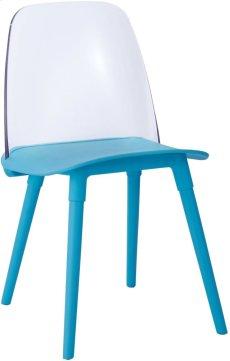 Pasha Blue Acrylic Chair (Set of 2) Product Image