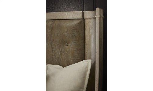 Morrissey King Lloyd Upholstered Shelter Bed