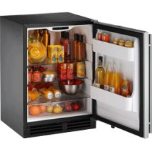 """Stainless Right-hand 2000 Series/ 24"""" Refrigerator Model/ Single Zone Convection Cooling System"""