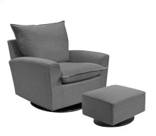 A glider inspiring comfort and relaxation, which you'll never want to get up from!