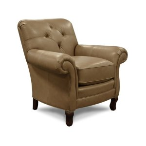 England FurnitureLeather Kieran Chair 1044AL