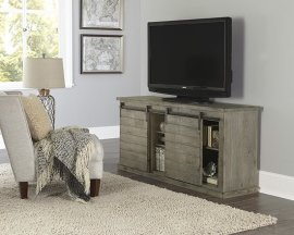 64 Inch Console - Gray - Distressed Gray, Black, Navy, Pine, Red, \u0026 White Finish