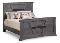 Algoma Double Bed with 32'' High Footboard Product Image