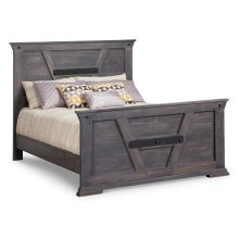 Algoma Single Bed with 32'' High Footboard