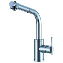 Chrome Parma® Single Handle Pull-Out Kitchen Faucet