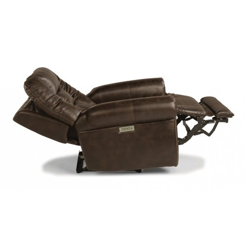 Maverick Fabric Power Recliner with Power Headrest