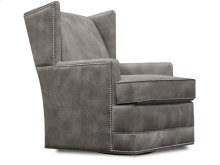 Olive Swivel Chair with Nails 4769ALN