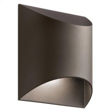 Wesley Collection Wesley 1 Light LED Outdoor Wall Light AZT