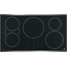 "36"" GE Profile Electric Cooktop with Induction Elements"