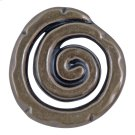 Scroll Knob 1 1/2 Inch - Burnished Bronze Product Image