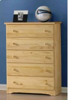 Ponderosa Five Drawer Chest Product Image