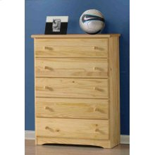 Ponderosa Five Drawer Chest