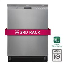 Front Control Dishwasher w/ Height Adjustable 3rd Rack