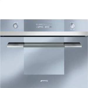 "Smeg60CM (Approx. 24"") Built-in Steam Combination Oven, Stainless Steel"