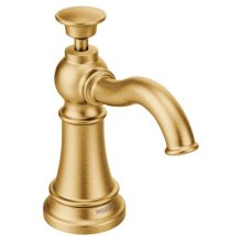 Traditional Soap Dispenser brushed gold