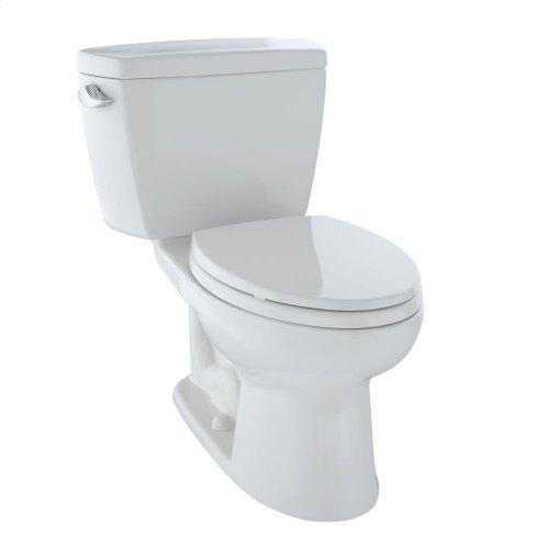Eco Drake® Two-Piece Toilet, 1.28 GPF, Elongated Bowl - Colonial White