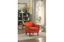Accent Chair, Orange