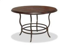Midland Metal/Wood Reg Dining Table